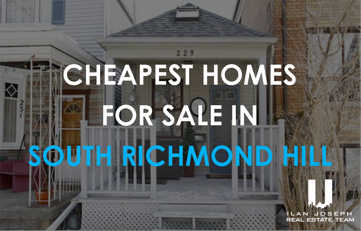 10 lowest priced homes for sale in richmond hill