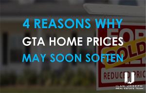 toronto home prices soften